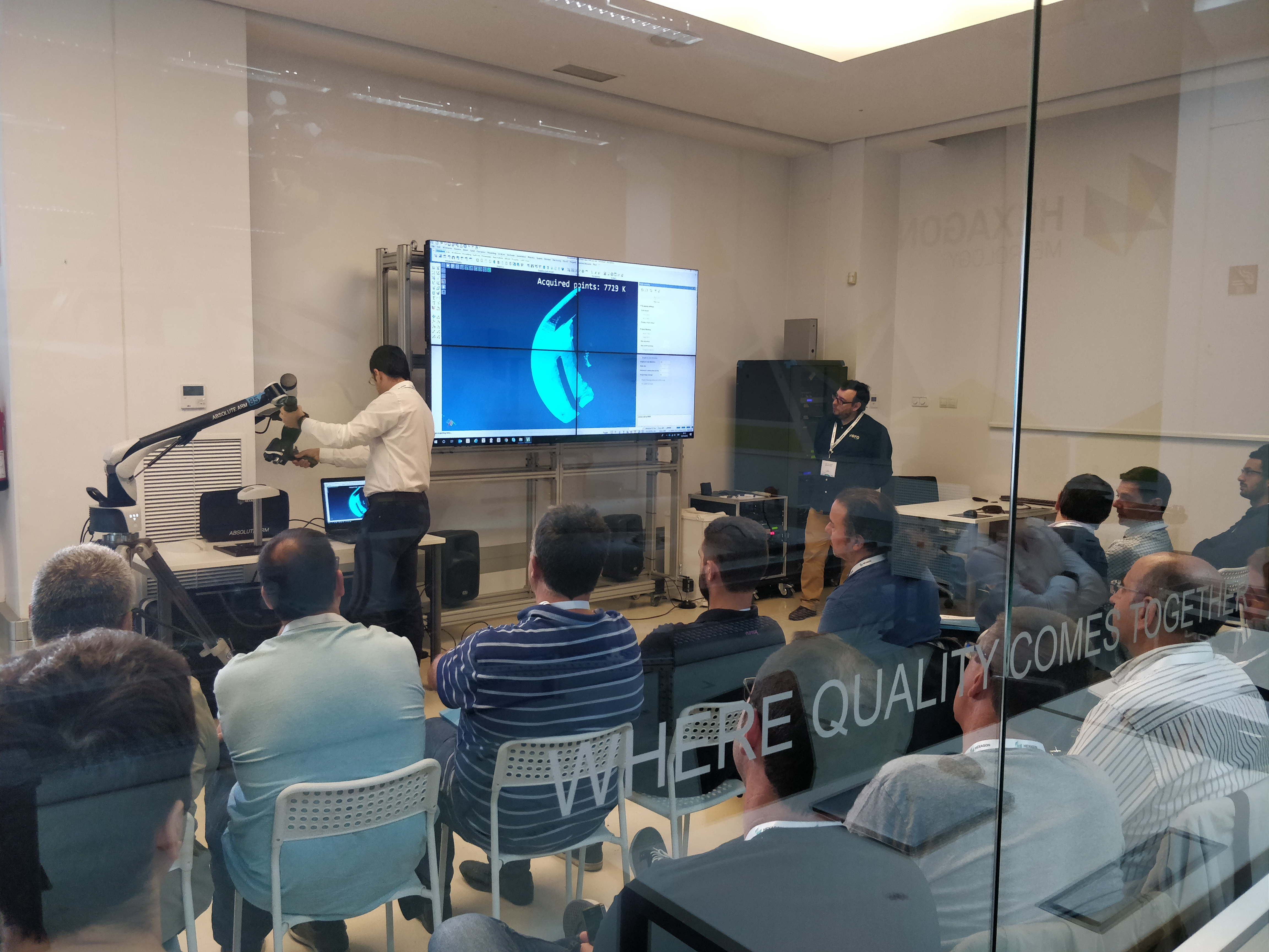 Hexagon MI organiza con su nueva división Production Software una jornada sobre moldes y matrices en Zaragoza
