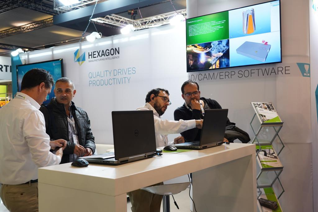 Hexagon Production Software estará presente en Industry de Barcelona con sus últimas novedades en software CAD/CAM/ERP